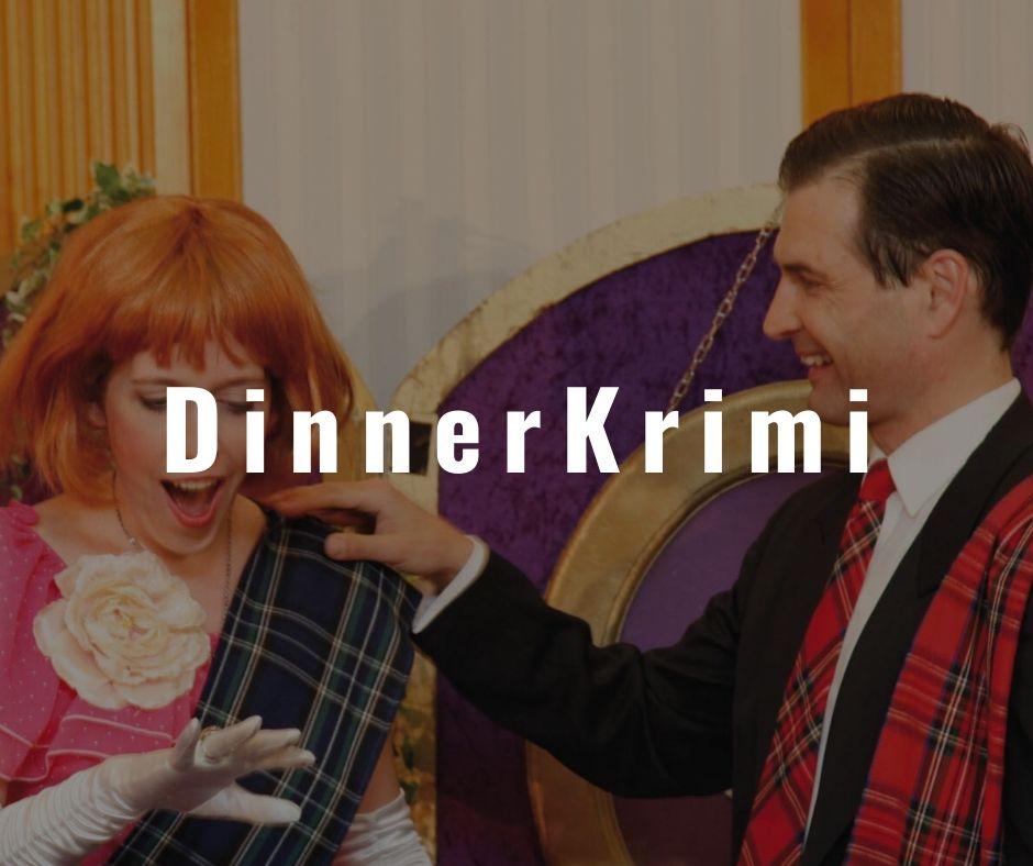 Vorschaubild mit Schriftzug DinnerKrimi